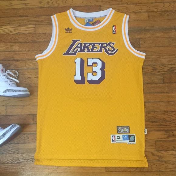 16bc749e adidas Shirts | La Lakers Jersey Wilt Chamberlain | Poshmark